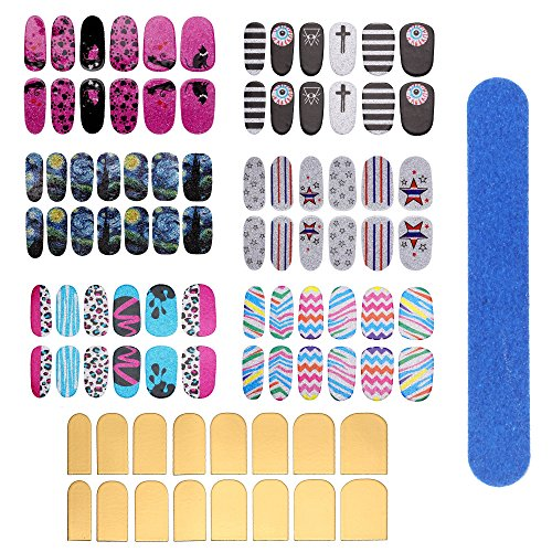 Face Forever Metallic Fullnail Stickers product image