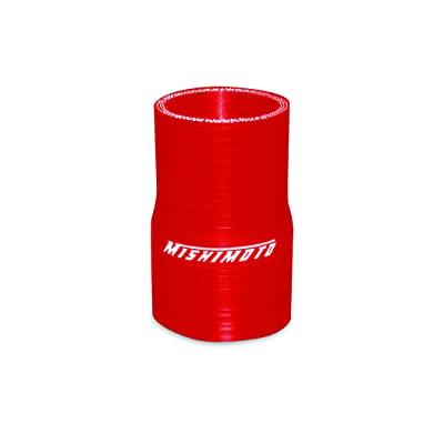 """Mishimoto 2.0"""" to 2.25"""" Silicone Transition Coupler, Red: Automotive"""