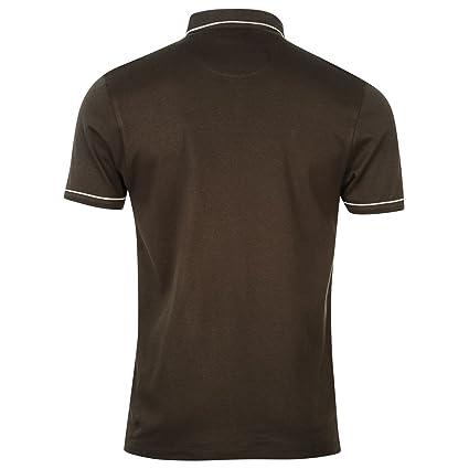 Pierre Cardin - Polo - para Hombre Gris Oscuro S: Amazon.es: Ropa ...