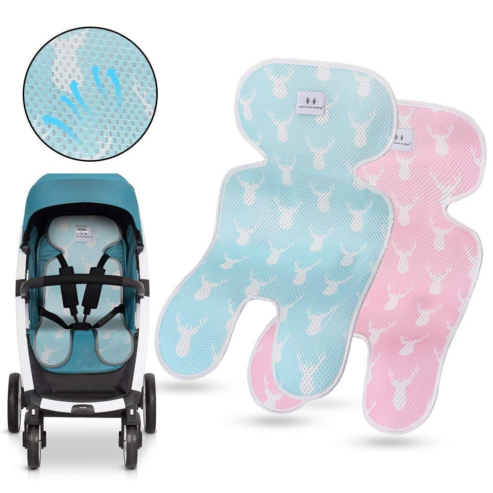 Schmetterlingskissen NEU Kinderwagenset Sitzauflage MINKY Kinderwagen Buggy Sitzeinlage Eulen