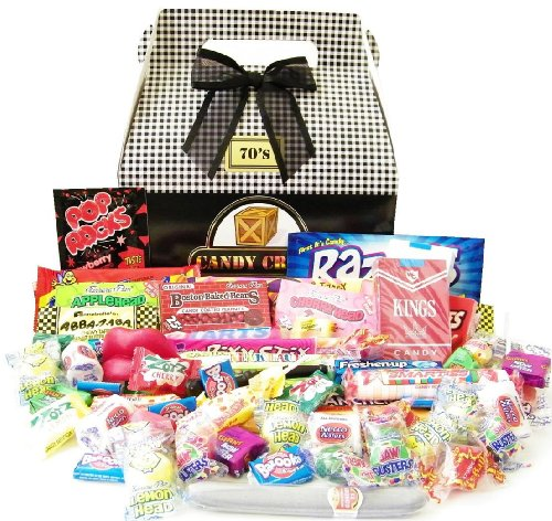 Candy Crate 1970's Classic Retro Candy Gift Box for $<!--$39.90-->