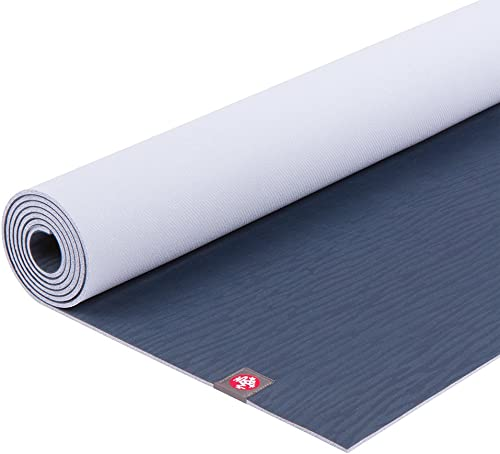 Manduka eKO Yoga Mat Premium 5mm Thick Mat, Eco Friendly and Made from Natural Tree Rubber. Ultimate Catch Grip for Superior Traction, Dense Cushioning for Support and Stability in Yoga, Pilates, and General Fitness