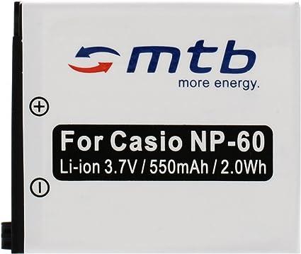 Liste Netz//KFZ f/ür Casio NP-60 // Exilim EX-FS10 S10 S12 Z22 Z25 Z29.s Ladeger/ät