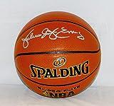 Julius Erving Autographed NBA Spalding Basketball- JSA W Authenticated