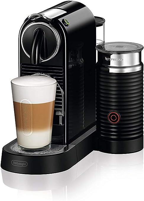DeLonghi Nespresso Citiz EN267.BAE Cafetera con cápsulas, sistema de extracción especial, 1710 W, 1 L, plástico, Negro: Amazon.es: Hogar