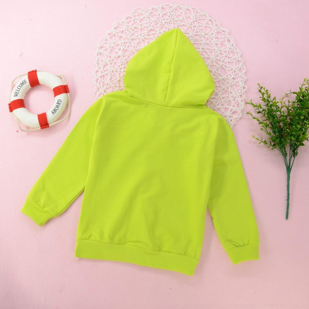 Fullfun 1-4T Toddler Lightwight Hooded Zipper Jacket