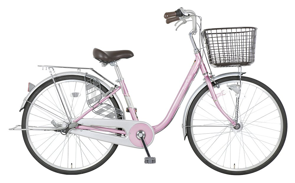 marukin(マルキン) 完全組立 26インチ自転車 LEDオートライト シマノ製内装3段ギア プチベル B078L7V6DFピンク