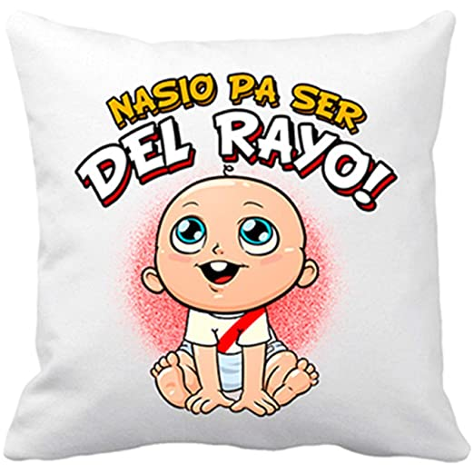 Diver Bebé Cojín con Relleno Nacido para ser del Rayo ...