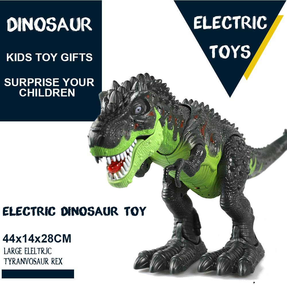 ERollDeep Dinosaur Toys, Electronic Dinosaur Toys Walking Dinosaur with Flashing & Sounds for Boys (Large) by ERollDeep (Image #7)