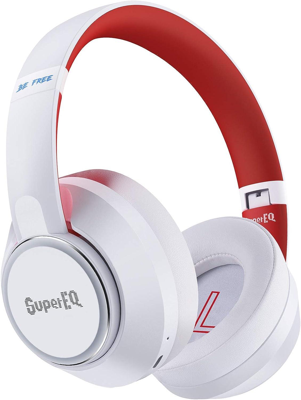 Hybrid Active Noise Cancelling, SuperEQ S1 Wireless Headphones £24.79 w/code ZE2R77YX + 5% voucher @ Amazon