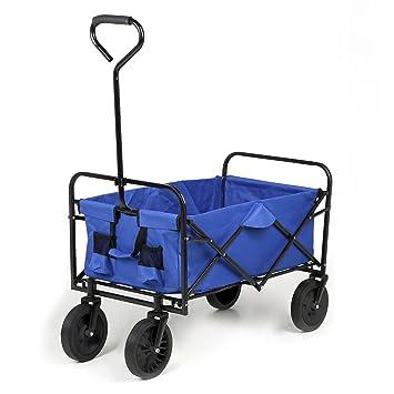 Sekey Plegable Carro | Mano Carro | | Playa Carrito | Jardín Carro | Exterior Dispositivo (| Multi Función Carro Plegable hasta 80 kg 360 ° Giratorio ...