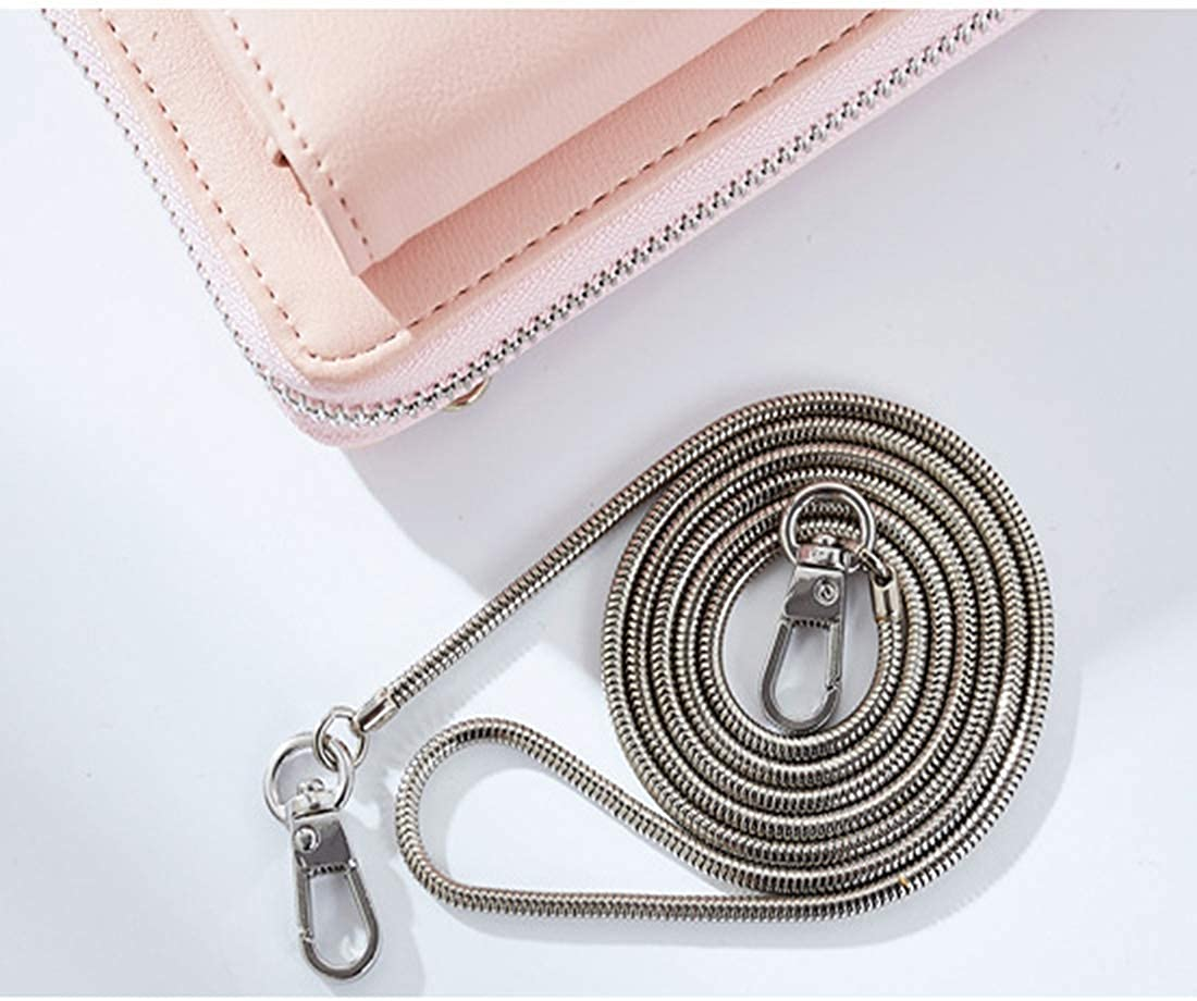 Women/'s Zipper Around Purse Crossbody Bag Flap Shoulder with Leather Strap Solid Satchel Small Handbag for Ladies /& Girls