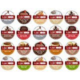 20-count K-cup for Keurig Brewers Coffee Variety Pack Featuring Cake Boss® Coffee Sampler Cups Including Hazelnut Biscotti, Raspberry Truffle, Italian Rum Cake, Vanilla Buttercream, Chocolate Canoli, Chocolate Fudge Cake, and Dulce de Leche Flavored Cups