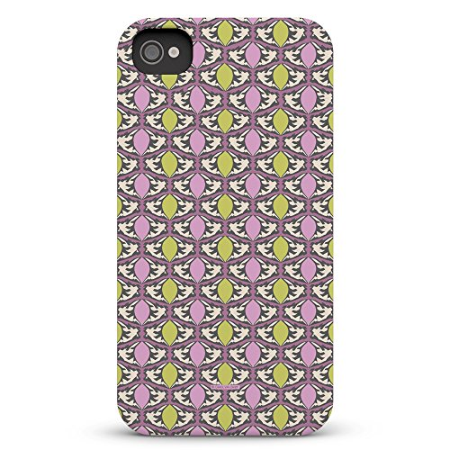 Koveru Back Cover Case for Apple iPhone 4/4S - Lavender Drops