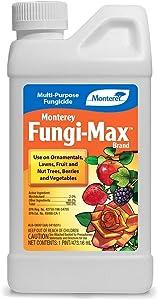 Monterey LG3216 Fungi-Max Brand Concentrate Multi-Purpose Lawn & Garden Fungicide, 16 oz