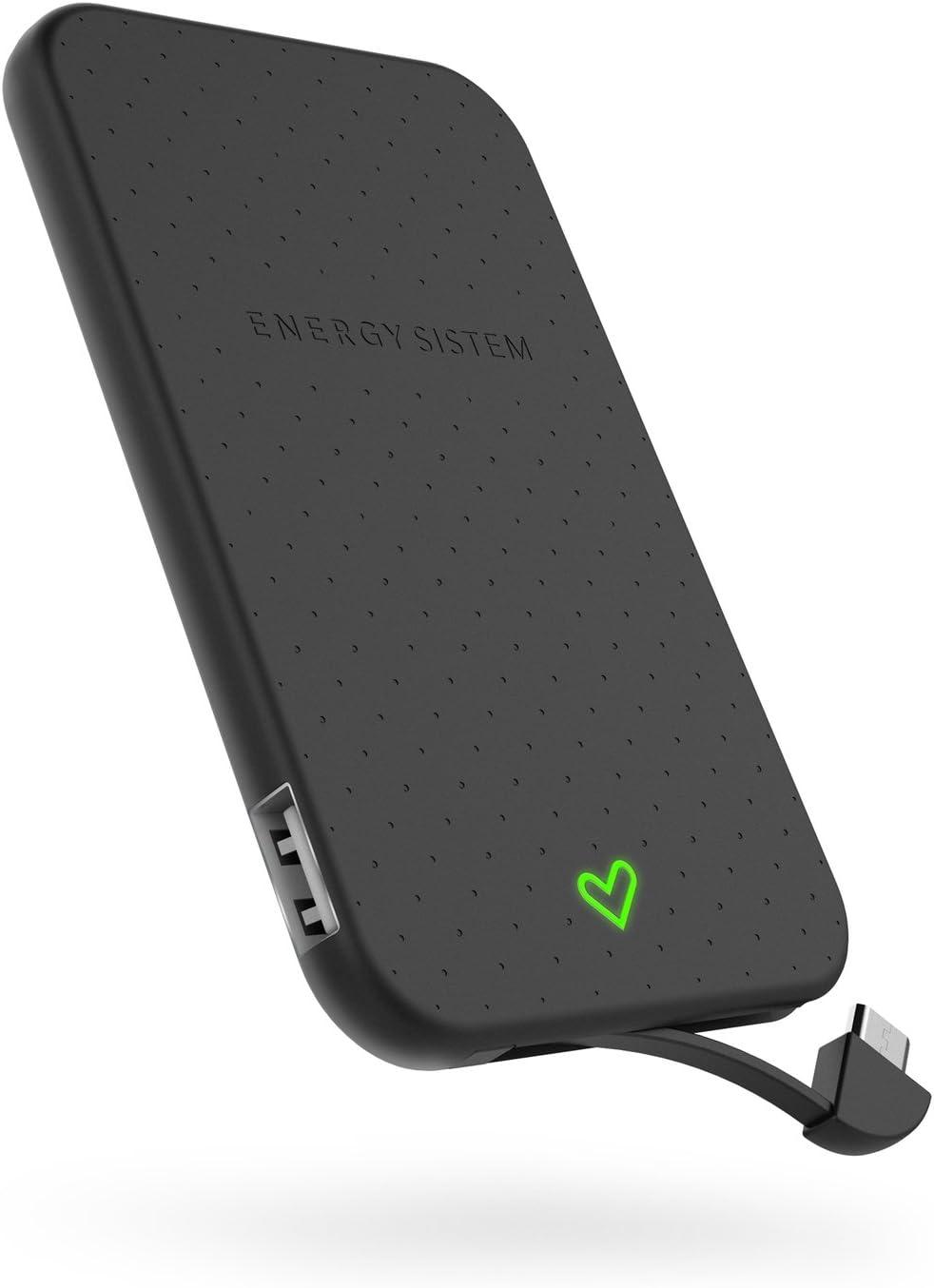Energy Extra Battery 2500 Black (2500 mAh para Smartphones, diseño ...