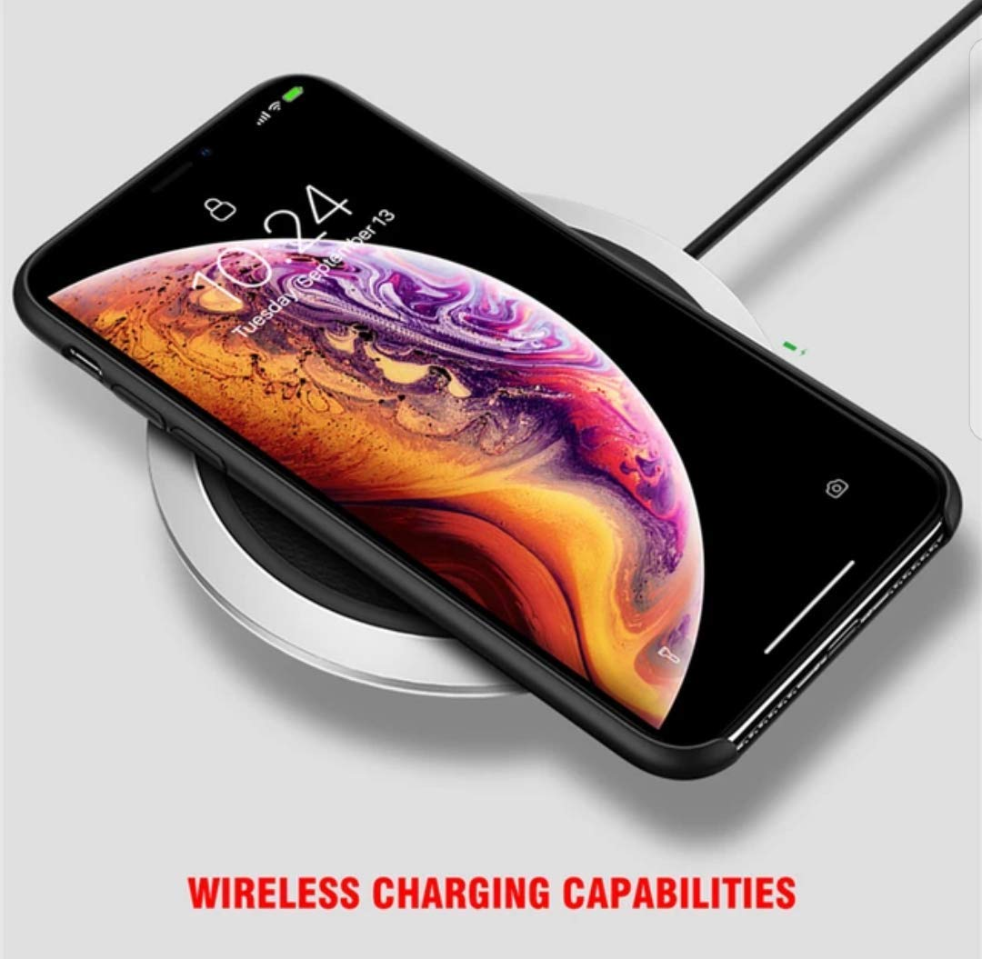 Airlite for iPhone Xs Silicone Case (Black)