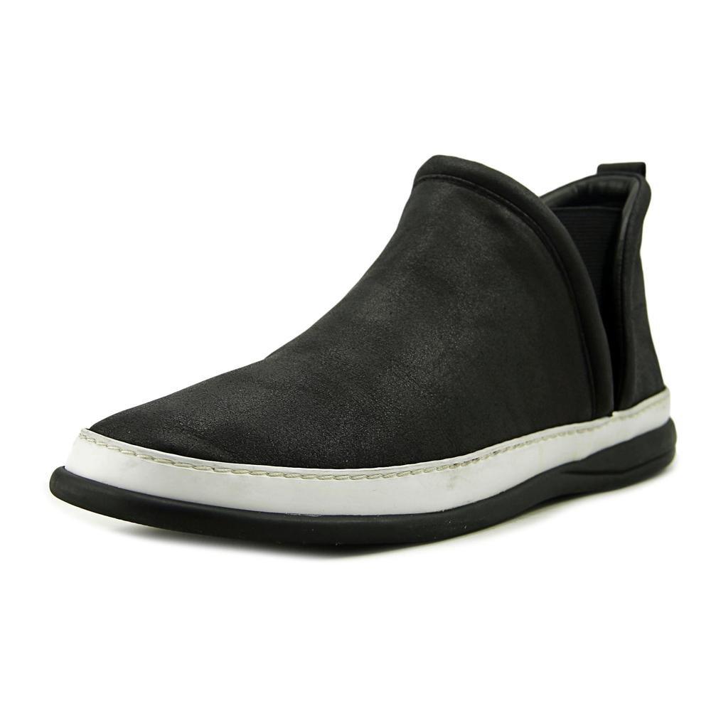 Taryn Rose Womens Freddie Low Top Slip On Fashion Sneaker, Black, Size 11.0