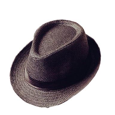 451bae22e0e Cupcinu Panama Summer Sun Beach Straw Hat British Style Fedora Trilby Straw  Hat Cap Foldable Packable