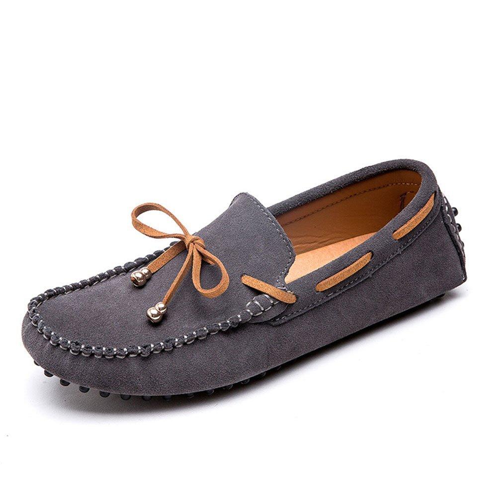 Zapatos de conducción desodorizantes y Zapatos de Senderismo para Hombres de Verano 39 1/3 EU|Gris