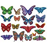 Butterflies II, 18 Mini Shaped Puzzles Totaling 500 Pieces by Lafayette Puzzle Company