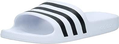 adidas Adilette Aqua Unisex Adults' Slides, Footwear White/core Black/Footwear White