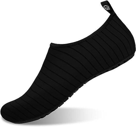 JOINFREE Womens Mens Kid Summer Water Shoes Barefoot Shoe Quick Dry Aqua Socks Yoga