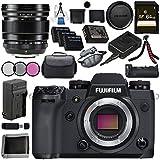 Fujifilm X-H1 Mirrorless Digital Camera (Body Only) 16568731 XF 16mm f/1.4 R WR Lens 16463670 VPB-XH1 Vertical Power Booster Grip Bundle
