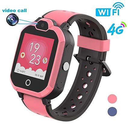 Amazon.com: HuaWise - Reloj inteligente para niños con GPS ...