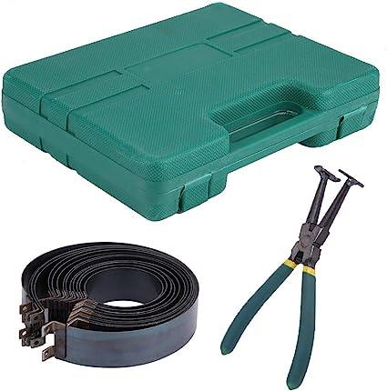 SANON Kit de Alicates de Compresor de Anillo de Pist/ón de Motor Autom/ático Kit de Herramientas de Reparaci/ón de Autom/óviles