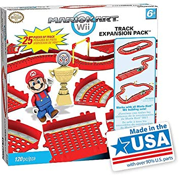 Amazon Com K Nex Mario Kart Wii Building Set Track