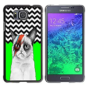 Dragon Case - FOR Samsung ALPHA G850 - So go to sleep - Caja protectora de pl??stico duro de la cubierta Dise?¡Ào Slim Fit