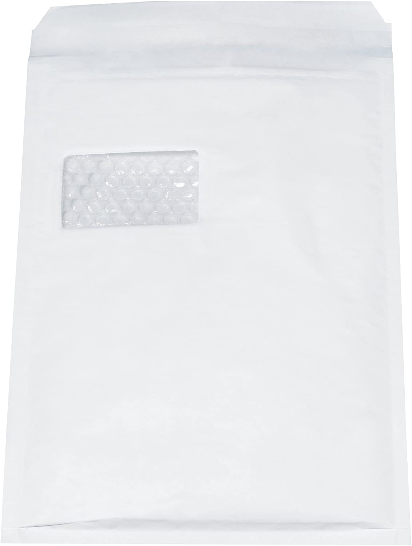 AroFol 2/fvaf000514/Buste imbottite numero 4/con finestra colore: bianco 100/pezzi 180/X 265/mm