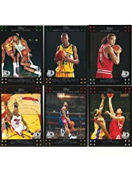 2007 2008 Topps NBA Basketball 135 Card Hand Collated Set Complete Kevin Durant Rookie Kobe Bryant LeBron James Plus M (Mint)