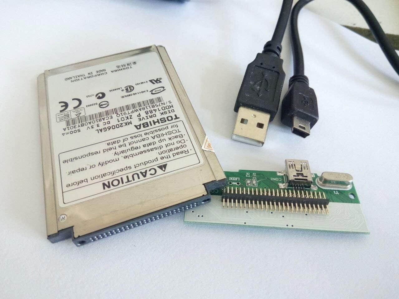 "CONVERTER BOARD CABLE ADAPTER 1.8/"" CF MK4006GAH MK6006GAH MK2004GAL Hard Drive"