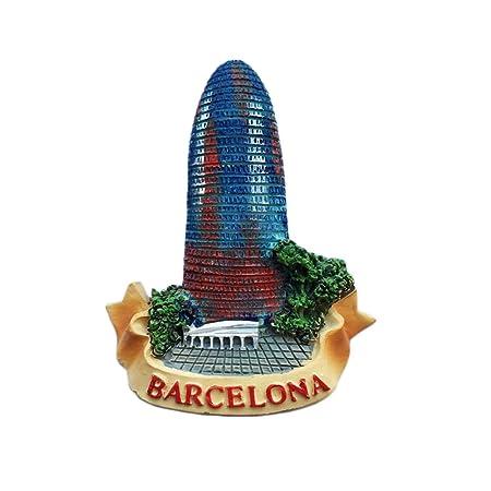 Barcelona España 3D Imán de nevera Estilo Agbar Regalo de recuerdo ...