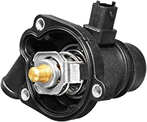 MOCA Thermostat Housing Assembly Compatible with 14-17 for Chevrolet Trax 1.8L /& 11-15 for Chevrolet Cruze 1.8L /& 15-17 for Chevrolet Sonic 1.4L 1.6L