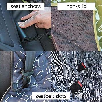 Molly Mutt Dog Car Seat Cover Dog Hammock for Back Seat Pet Car Seat Covers Back Seat Car Seat Cover Dog Car Seat Covers Hammock Cover Car Cover for Dogs Cute Car Seat Covers for Cars