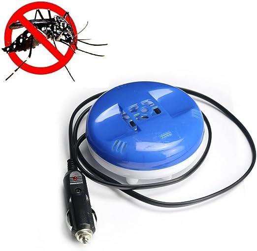 Repelente de insectos eléctrico de 12V para coche - Repelente de mosquitos dispositivo para mechero con cable flexible.
