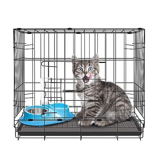 Chun Li Jaula del animal doméstico, perro del gato de la jaula ...