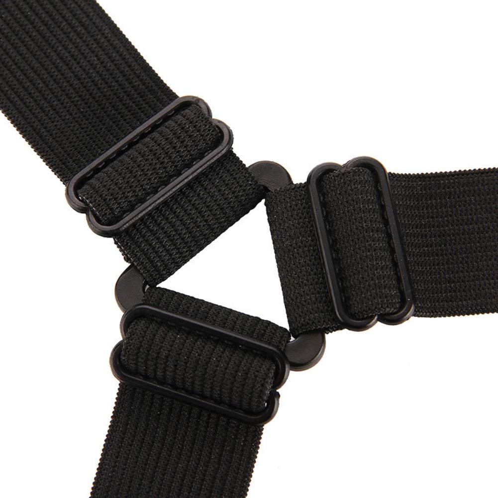 Handfly 4 UNIDS Ajustable S/ábanas de Cama Clip Tri/ángulo S/ábana Clips Colch/ón Titular Sujetador Pinzas Suspender Correas Bed Sheets Clip Triangle Bed Sheet Clips