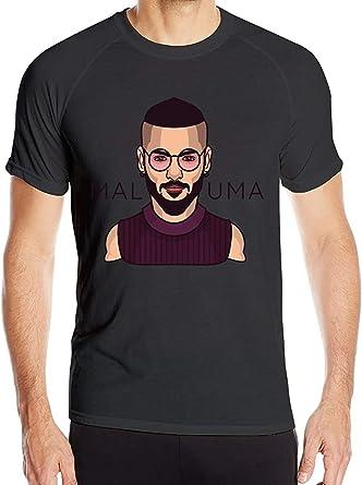 Maluma T-Shirt Mens Quick Dry T-Shirt Military tee Shirt ...