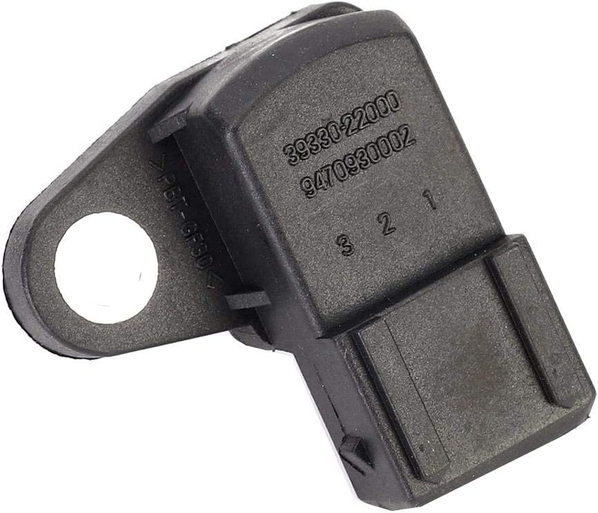 Hlyjoon Car MAP Intake Manifold Air Pressure Sensor 3933022000 Auto Manifold Pressure Sensor Vehicles Assist Sensor Fit for Hyundai Coupe 1996-1999 RD 2.0 16V 1996-2002