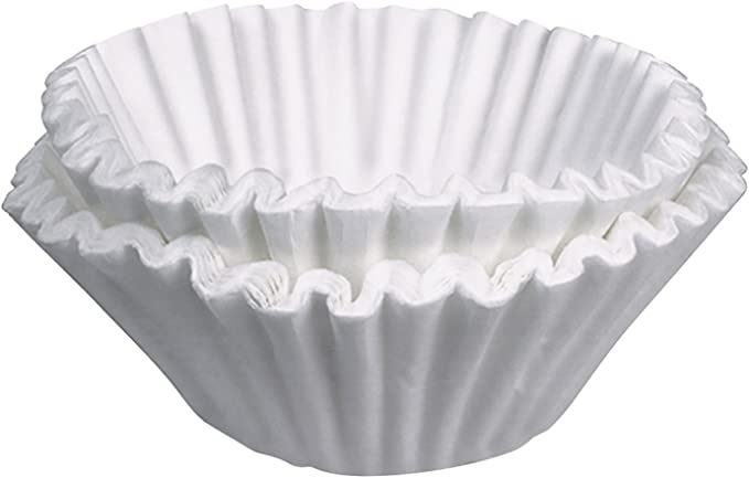 BUNN 20122.0000 Commercial 12 Cup Fast Flow Paper Coffee Filters (Pack of 1000)