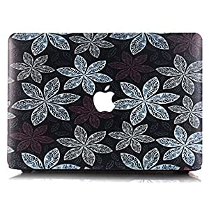 Laptop Accessory Flowers Plastic Case Cover For Macbook Air 13 13.3 Inch