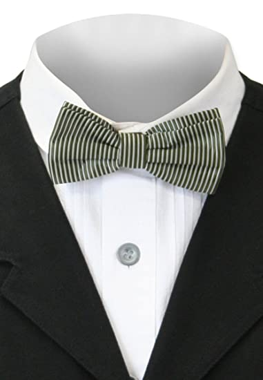 Victorian Mens Ties, Ascot, Cravat, Bow Tie, Necktie Historical Emporium Mens Confectionery Stripe Bow Tie $9.95 AT vintagedancer.com