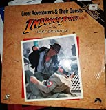 Great Adventures and Their Quests Indiana Jones and the Last Crusade Laser VideoDisc