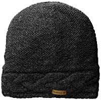 Laundromat Women's Twisted Cold Weather Hat, Graphite, One Size