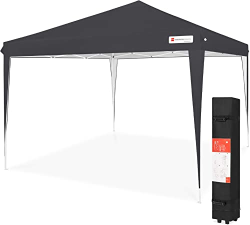 Best Choice Products Outdoor Portable Lightweight Folding Instant Pop Up Gazebo Canopy Shade Tent w/Adjustable Height