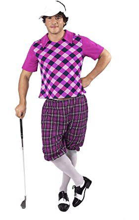 Amazon.com  Orion Costumes Mens Tartan Pub Golf Golfer Stag Fancy Dress  Costume  Clothing 950636a662